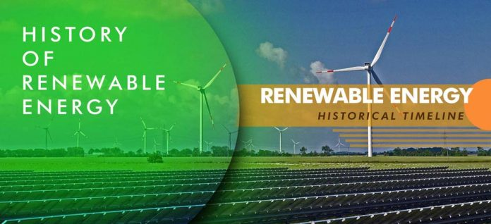 History of Renewable Energy