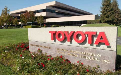 Key Green Initiatives by Toyota