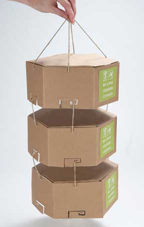 Examples of Biodegradable Packaging Joann Arello- Bagless Packaging