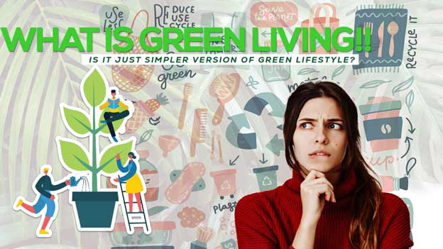 What is Green Living? Is it Just Simpler version of Green Lifestyle Or Its means a lot?