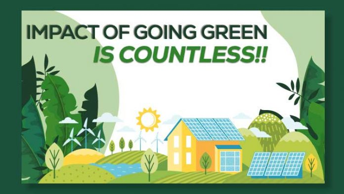 Impact Of Going Green