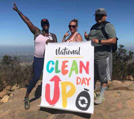 First National Clean Up Day of 2017